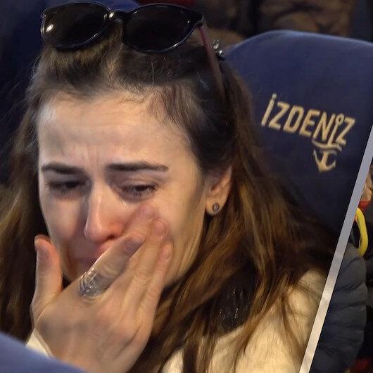 Vapurda İstiklal Marşı sürprizi yolcuları ağlattı