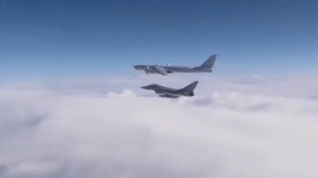 İngiltere ile Rusya uçakları arasında gerginlik
