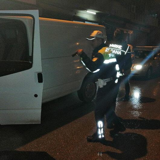 Adanada helikopter destekli narkotik uygulaması