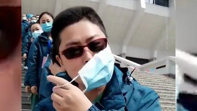 Wuhan maskelerden kurtuluyor