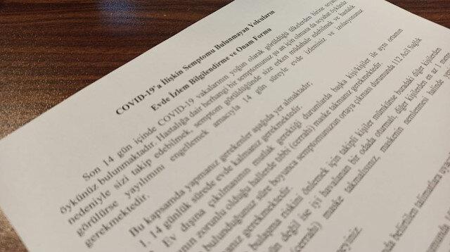 14 gün kuralına taahhütname: Karantinaya uymayana 1 yıla kadar hapis cezası var
