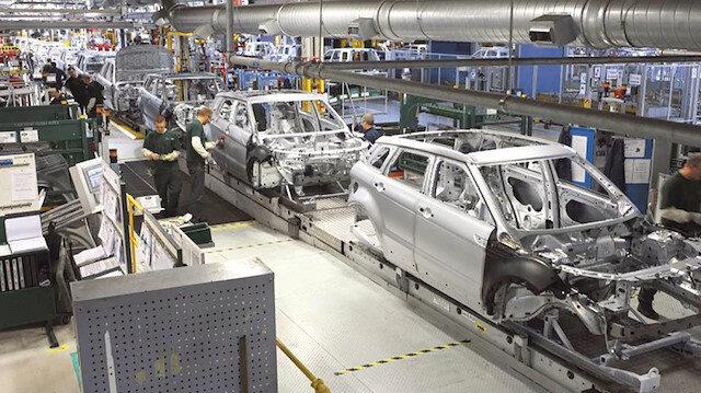 Avrupa'da otomotiv üretimi de durdu