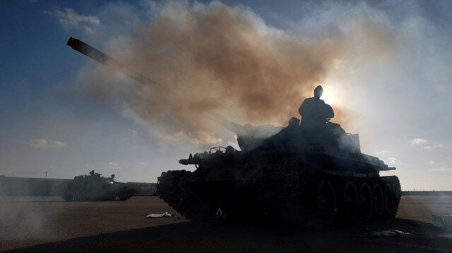 Libya İçişleri Bakanlığı: Esed, Hizbullah ve İran Hafter'e destek için ülkeye savaşçı gönderiyor