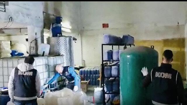 Koronavirüs fırsatçılarına darbe: Ankara'da sahte dezenfektan üretimine 4 gözaltı