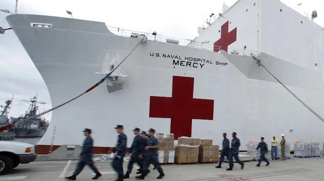 Pentagon koronavirüse karşı gemi hastanelerini kullanacak