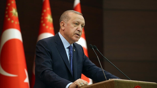 Cumhurbaşkanı Erdoğan koronavirüse karşı tedbir paketini açıkladı
