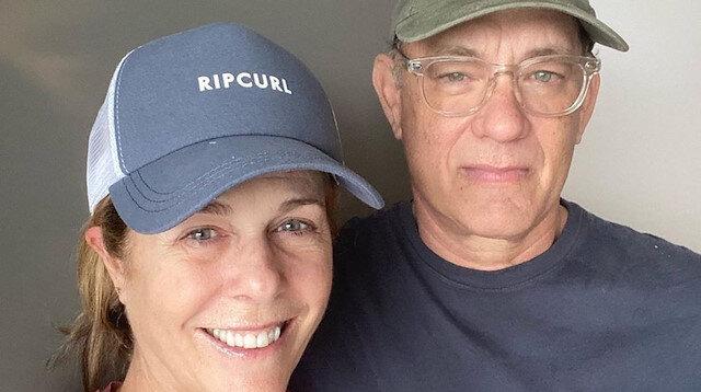 Koronavirüsten kurtulan Tom Hanks ve eşinden esprili paylaşım: Koronayı daktilodan kaptık