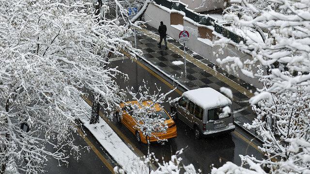 Başkent mart ayında beyaza büründü