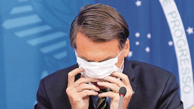 Koronavirüs için histeri ve kuruntu diyen Bolsonaro'ya halk isyan etti