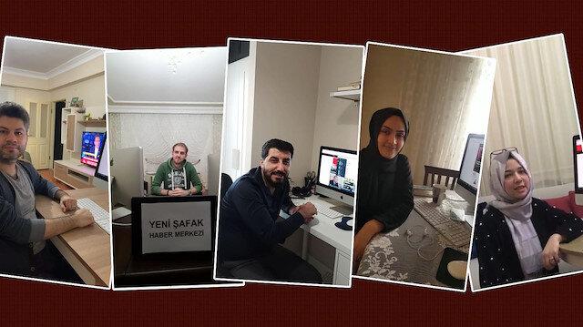 Yeni Şafak internet servisi ofisi evlere taşıdı: Evde işin ilk günü