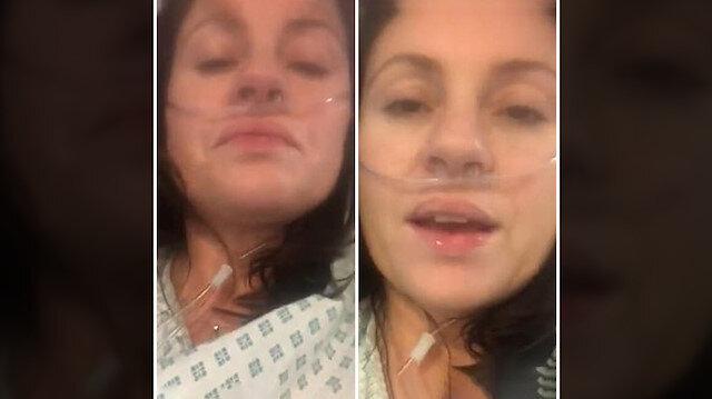 İngiltere'de tedavi gören koronalı hasta böyle feryat etti: Yoğun bakımdan video paylaştı
