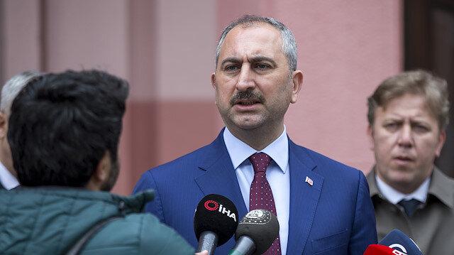 Adalet Bakanı Abdulhamit Gül: Cezaevlerinde rastlanan pozitif vaka yok