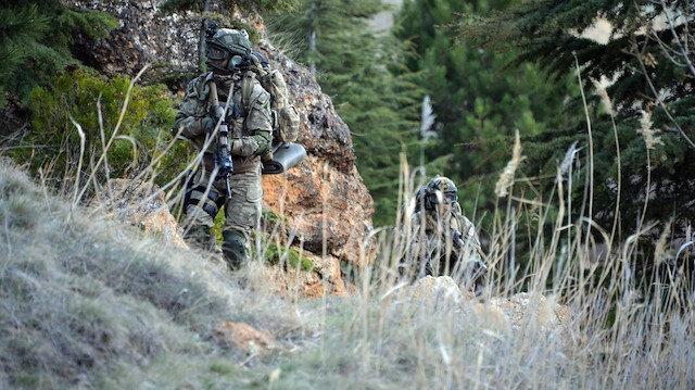 Barış Pınarı bölgesine sızma girişiminde bulunan 4 PKK'lı terörist etkisiz hale getirildi