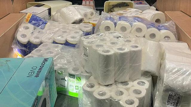 İngiltere'de bir tuhaf olay: 3 kişi bir bagaj dolusu tuvalet kağıdı çalıp kaçtı