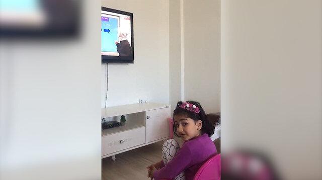 Bingöllü Erva Nur'un uzaktan eğitime ilk tepkisi: Bizi duyuyor mu?