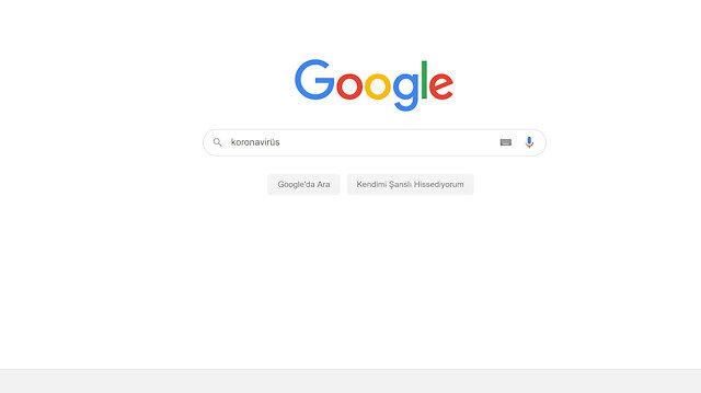 Google'da koronavirüs etkisi: Türkiye en çok neyi araştırdı?
