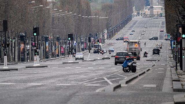 Fransa'da koronavirüsten ölenlerin sayısı 860'a yükseldi