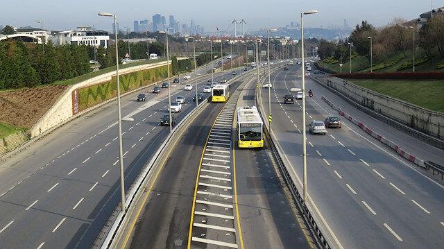 'Evde kal' çağrısı sonuç verdi: İstanbul'da trafik yoğunluğu yüzde 13'lere düştü