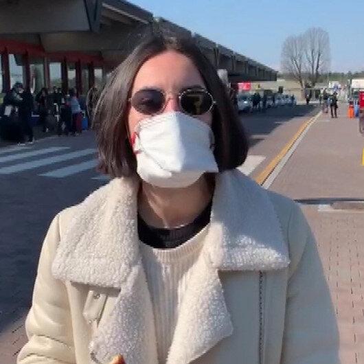 İtalyadaki Türk vatandaşlarının yurda dönüş sevinci