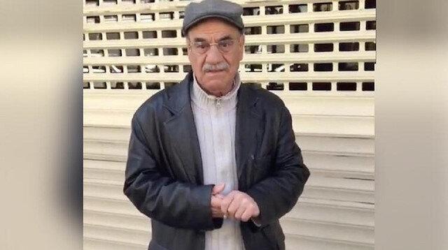 Yaşlı adamın görüntülerini paylaşarak infiale neden olan şahıs gözaltına alındı