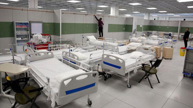 İran dünyanın en büyük AVM'sini korona hastanesine çevirdi