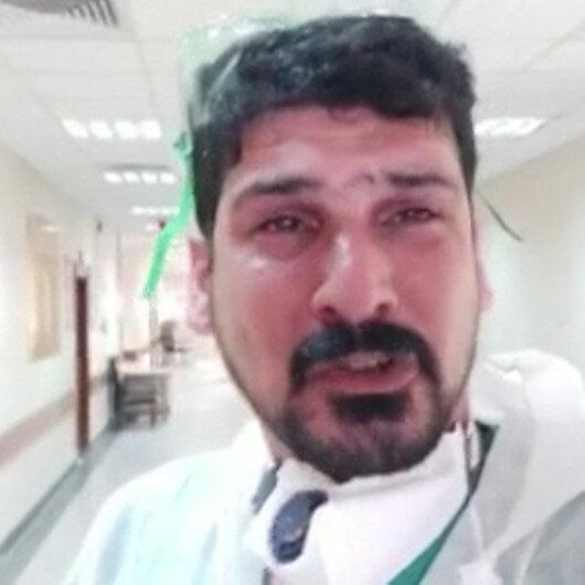 Iraklı doktor gözyaşlarıyla yalvardı: Lütfen evde kalın