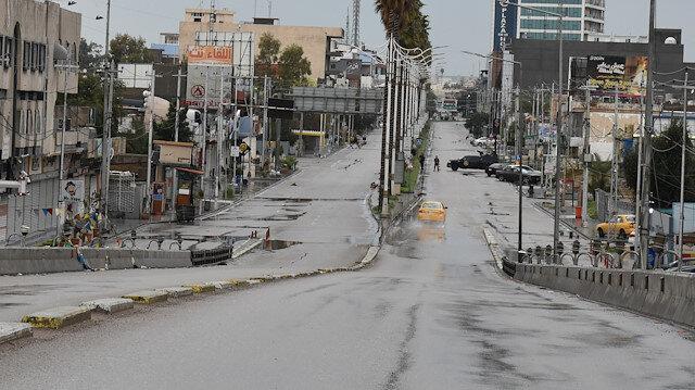 Kerkük hayalet şehre döndü: Koronavirüs vakası görülen kasaba karantinaya alındı