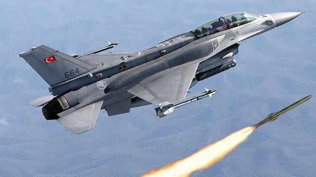 Hava taarruzu sonucu PKK'lı 8 terörist etkisiz hale getirildi