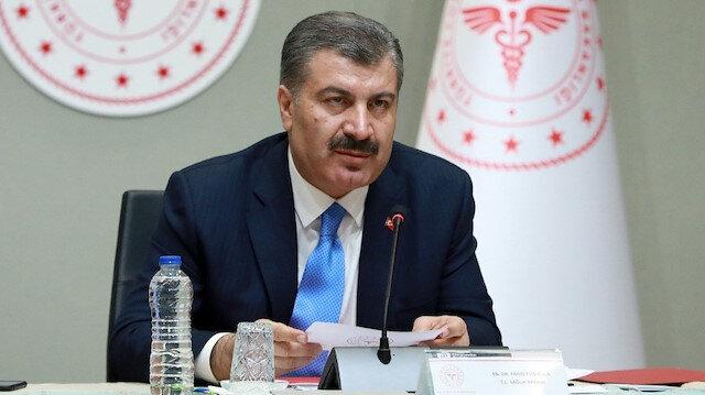 Sağlık Bakanı Fahrettin Koca 26 Mart tarihli koronavirüs verilerini açıkladı: Ölüm sayısı 16, vaka sayısı 1196