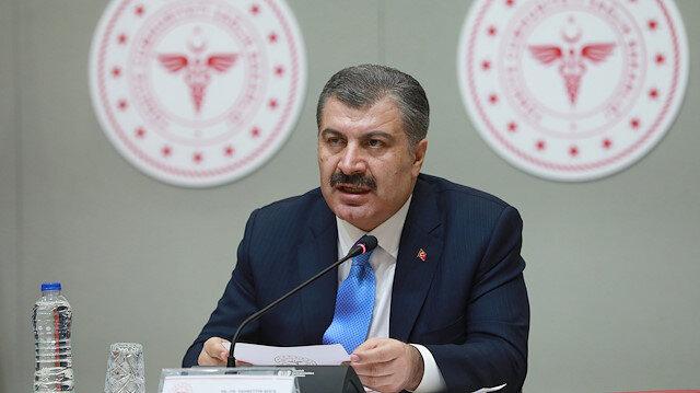 Sağlık Bakanı Koca son rakamları paylaştı