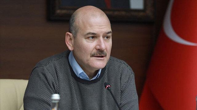 Bakan Soylu: Türkiye'de hayatın yüzde 80'in durdu