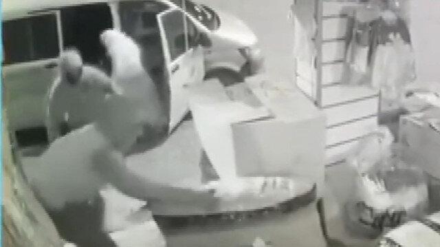 Mahalle bekçilerinin dikkati hırsızlığı önledi