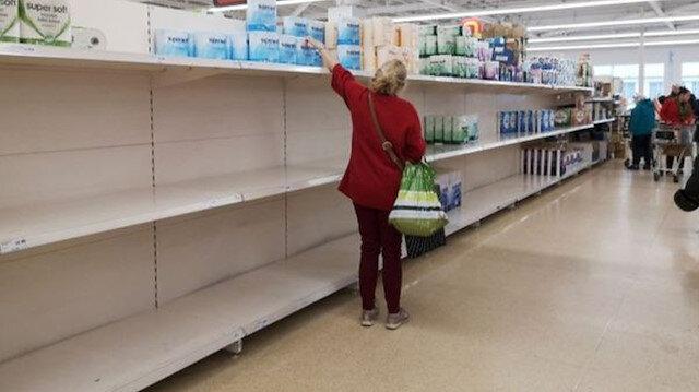 ABD'de koronavirüs korkusu 35 bin dolara patladı: Markette ürünlerin üstüne öksüren kadın paniğe neden oldu