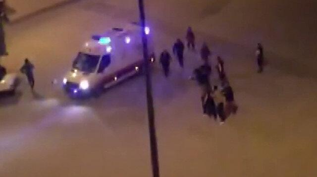 Yaptıkları kaza sonrası 3 sağlık görevlisini darp ettiler