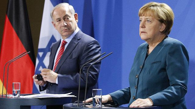 İsrail basını: Merkel Netanyahu'nun solunum cihazı talebini reddetti