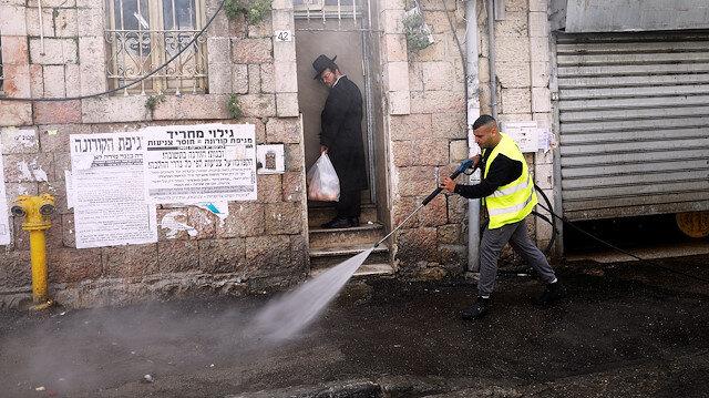 İsrail'de yeni tip koronavirüsten ölenlerin sayısı 13'e yükseldi