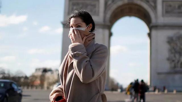 Fransa'da koronavirüsten dolayı ölenlerin sayısı 2 bin 606'ya yükseldi