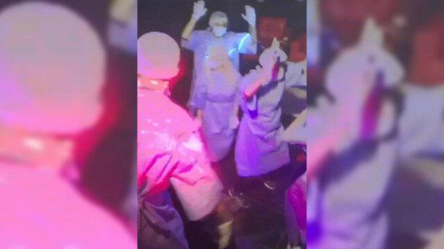 Koronavirüs tedbirlerine uymayarak ev kiralayıp parti düzenleyen 11 kişi gözaltına alındı