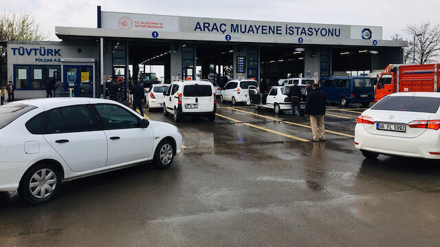 Araç muayene istasyonları için '14 gün kapatılsın' çağrısı