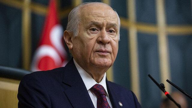 MHP lideri Bahçeli: Milli Dayanışma Kampanyası'na 5 maaşımla katılıyorum