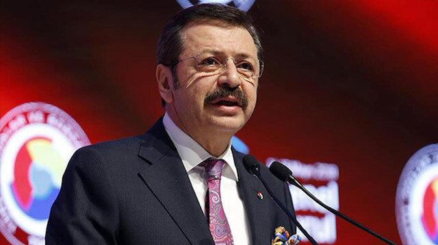 TOBB Başkanı Hisarcıklıoğlu: Kampanyaya 10 milyon lira destek vereceğiz