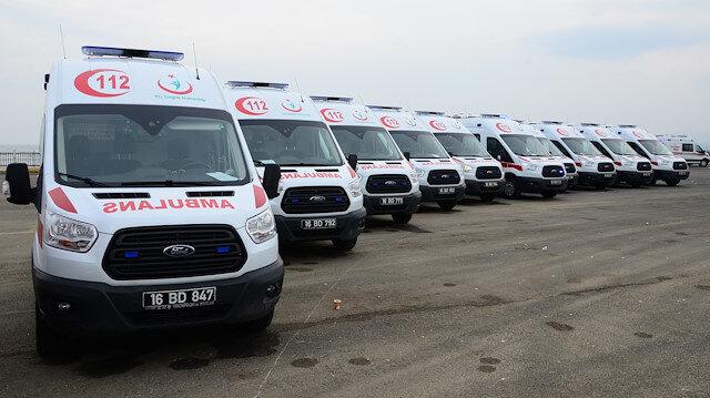 Ambulanslara ücretsiz akaryakıt verecek