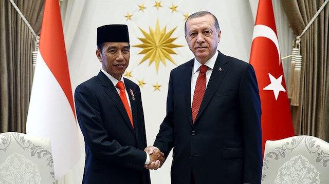 Cumhurbaşkanı Erdoğan, Endonezya Cumhurbaşkanı Widodo ile telefonda görüştü