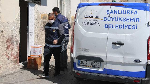 Şanlıurfa Büyükşehir Belediyesi 65 yaş üstü vatandaşların yanında