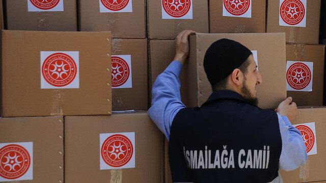 İsmailağa'dan 10 bin ihtiyaç sahibi aileye gıda ve temizlik malzemesi yardımı