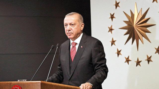 Biz bize yeteriz Türkiyem: Erdoğan Milli Dayanışma Kampanyası başlattı