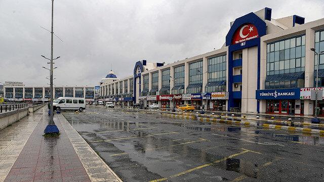 15 Temmuz Şehitler Otogarı'nda yoğunluk azaldı: Bir yolcuda ateş tespit edildi