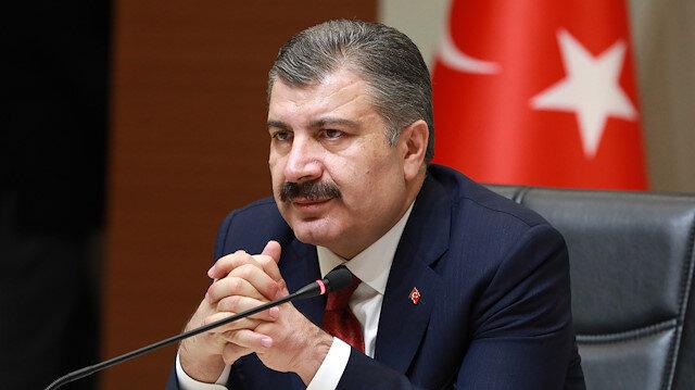 Sağlık Bakanı Koca açıklarken boğazı düğümlendi: 601 sağlık çalışanımız virüsten etkilendi