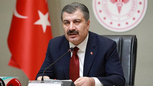 Sağlık Bakanı Koca: Bütün illerimizde vaka görüldü, en çok vaka İstanbul'da
