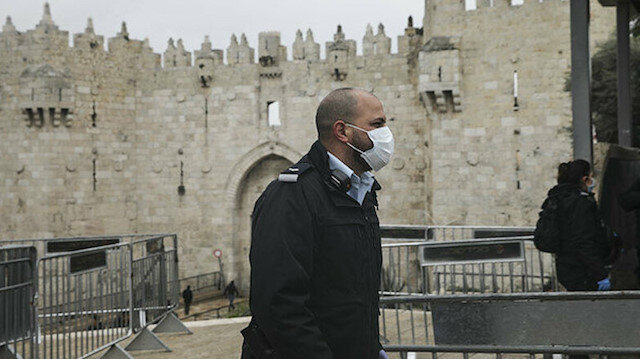 İşgalci İsrail'i de koronavirüs vurdu: Ölü sayısı 26'ya yükseldi